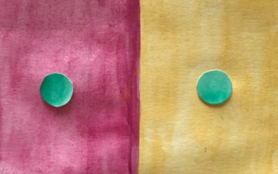 """Own artwork based on """"One Color Becomes Two"""" by Bianca Iodice"""